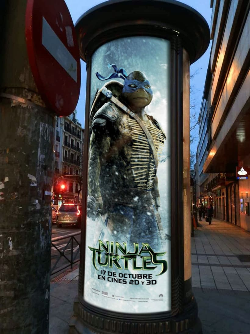 Ninja Turtles - Paramount Pictures Spain 9