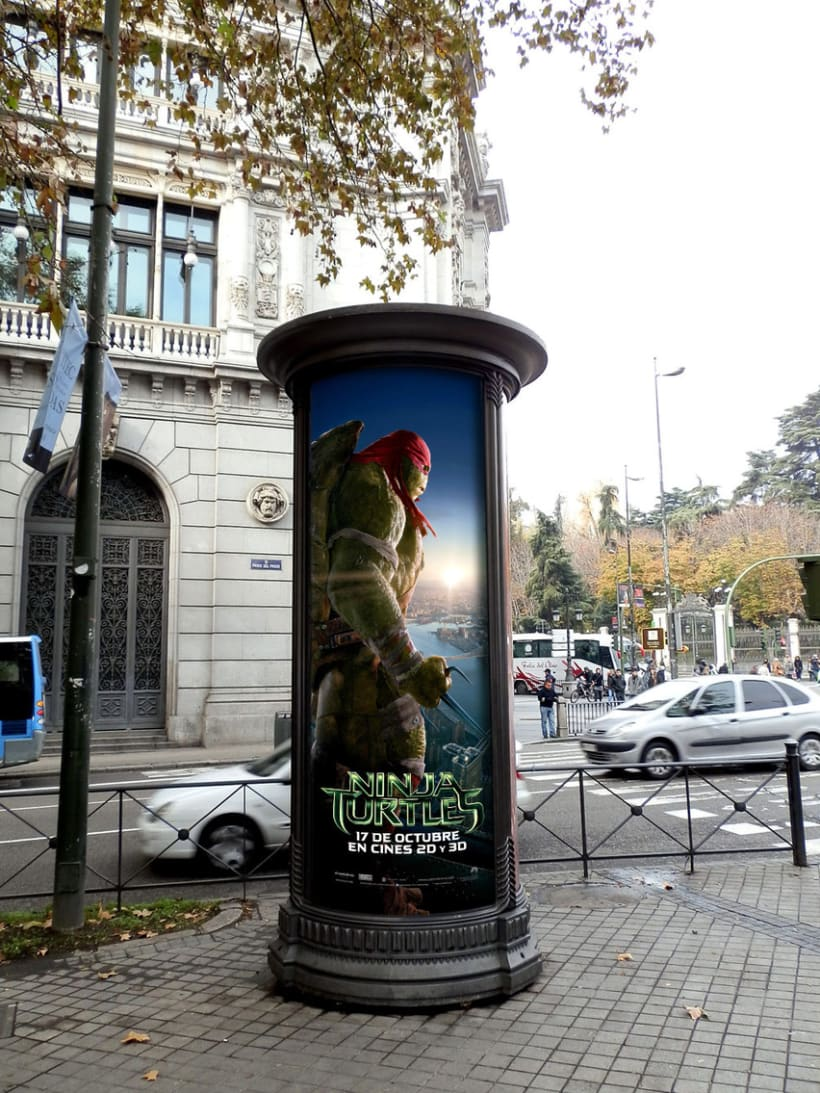 Ninja Turtles - Paramount Pictures Spain 10