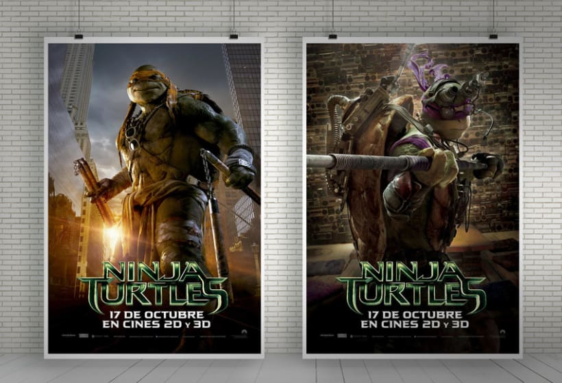 Ninja Turtles - Paramount Pictures Spain 2