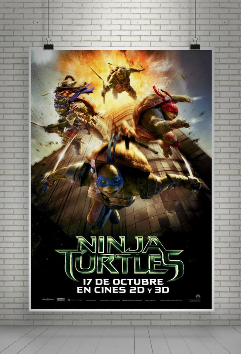Ninja Turtles - Paramount Pictures Spain 1