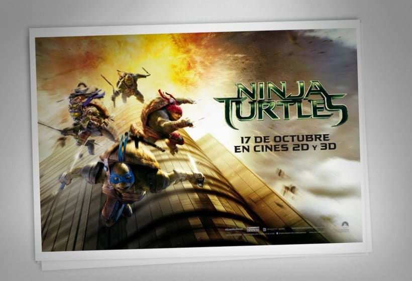 Ninja Turtles - Paramount Pictures Spain 6