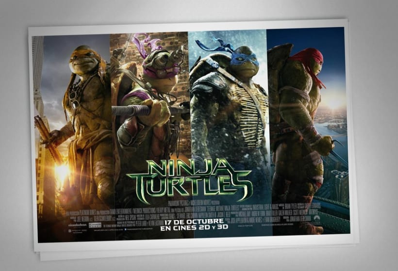 Ninja Turtles - Paramount Pictures Spain 7