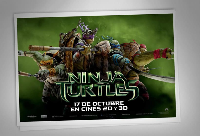 Ninja Turtles - Paramount Pictures Spain 8