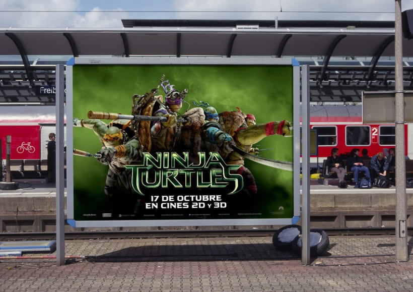 Ninja Turtles - Paramount Pictures Spain 11