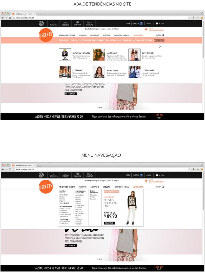 Web Multimarca Uselets Brasil - Tienda online 2015 2