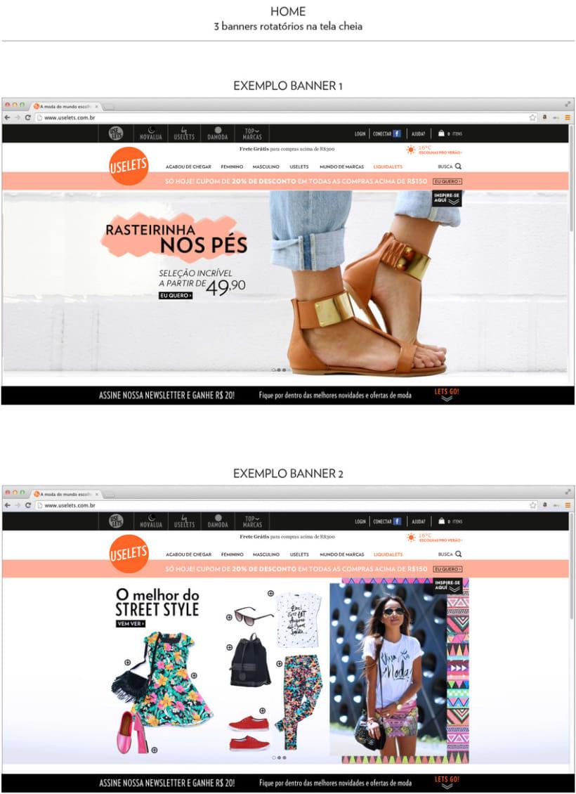 Web Multimarca Uselets Brasil - Tienda online 2015 1