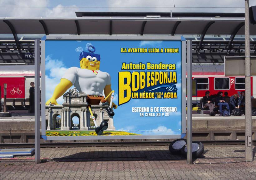 "Bob Esponja ""Un héroe fuera del agua"" - Paramount Pictures Spain 12"