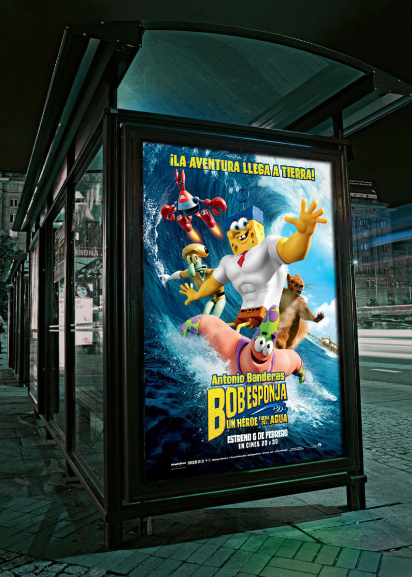"Bob Esponja ""Un héroe fuera del agua"" - Paramount Pictures Spain 3"
