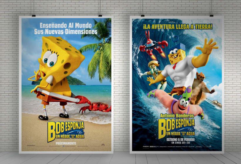 "Bob Esponja ""Un héroe fuera del agua"" - Paramount Pictures Spain 1"