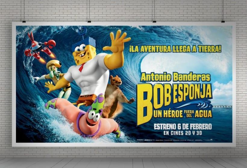 "Bob Esponja ""Un héroe fuera del agua"" - Paramount Pictures Spain 11"