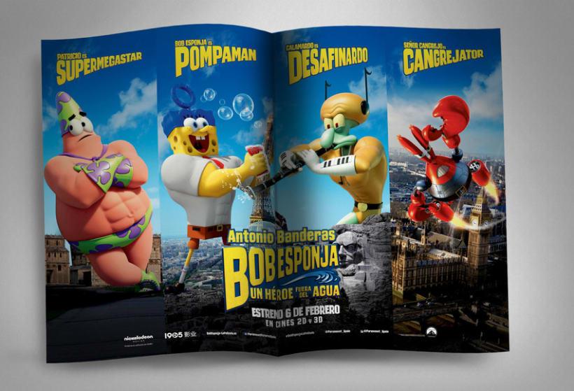 "Bob Esponja ""Un héroe fuera del agua"" - Paramount Pictures Spain 5"