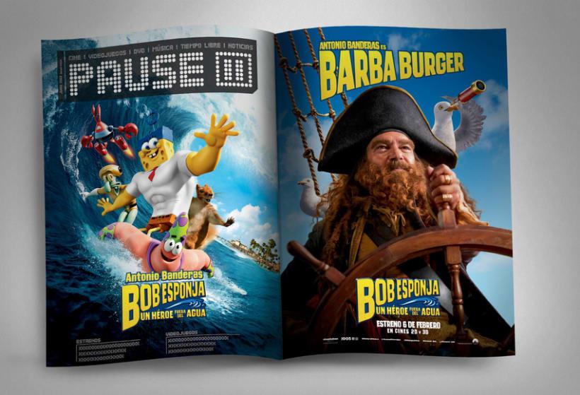 "Bob Esponja ""Un héroe fuera del agua"" - Paramount Pictures Spain 4"
