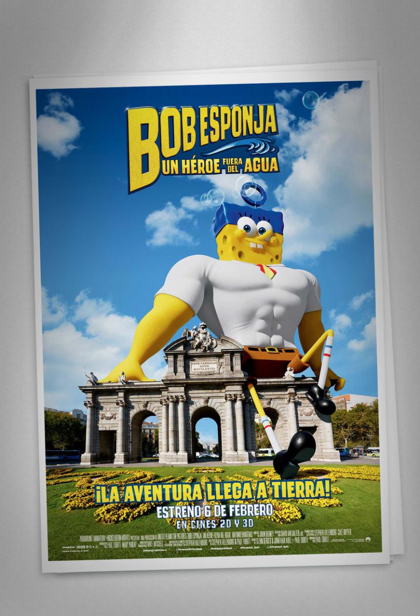 "Bob Esponja ""Un héroe fuera del agua"" - Paramount Pictures Spain 6"