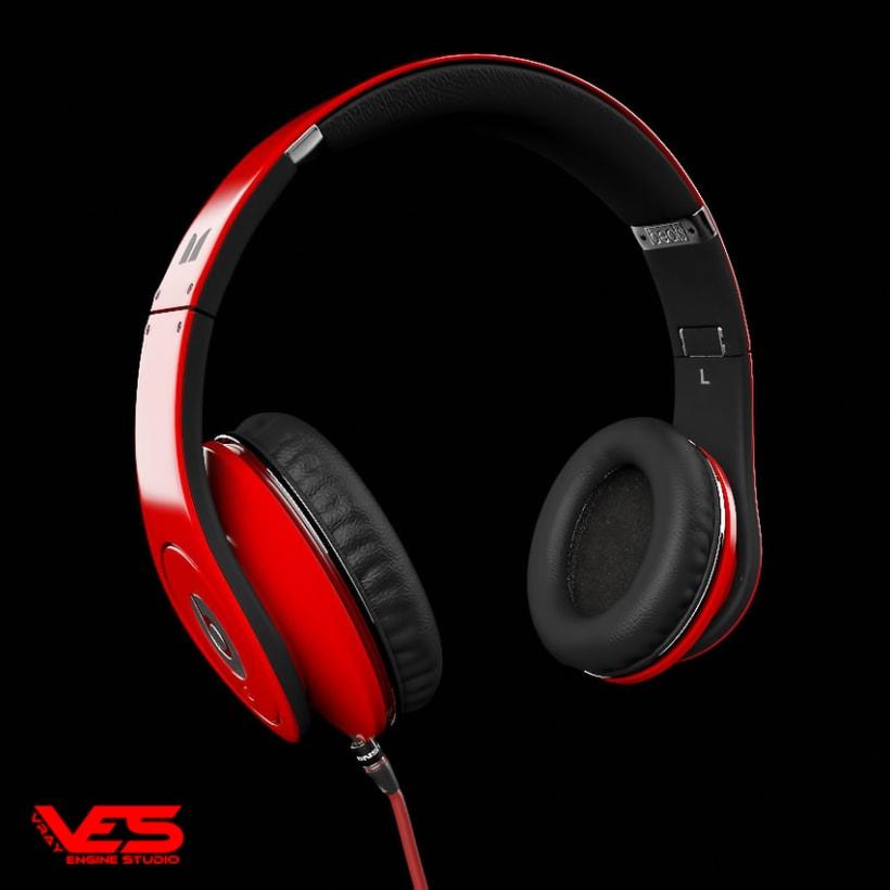 Headphones Monster Beats Studio  0