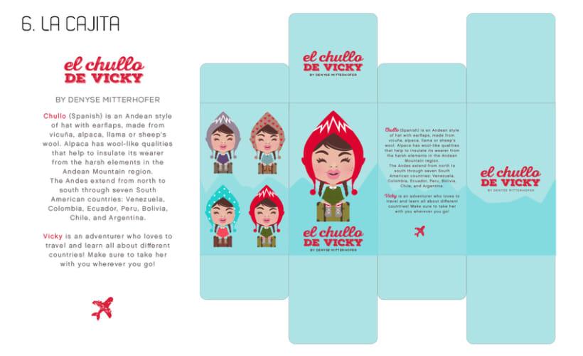 """Proyecto Art Toy """"EL CHULLO DE VICKY"""" 5"""