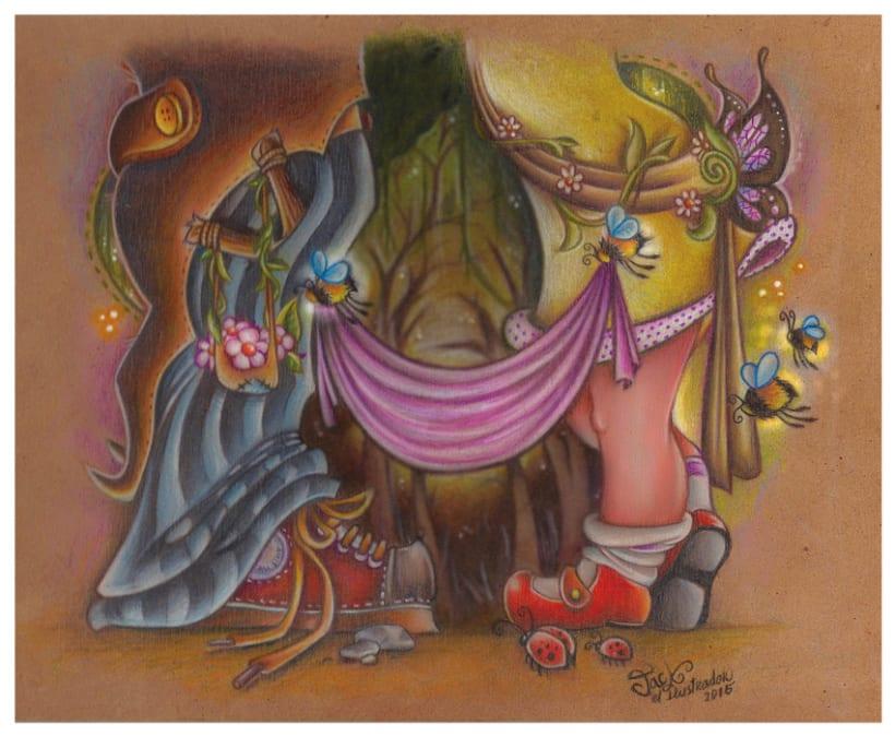 Ilustración de cuento de Hadas -1