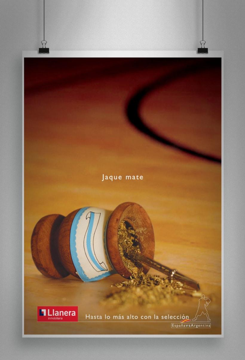 """Llanera (inmobiliaria) - Mundial de Baloncesto """"Japón 2006"""" (semifinales) 2"""