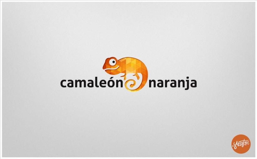 Camaleón Naranja logo -1
