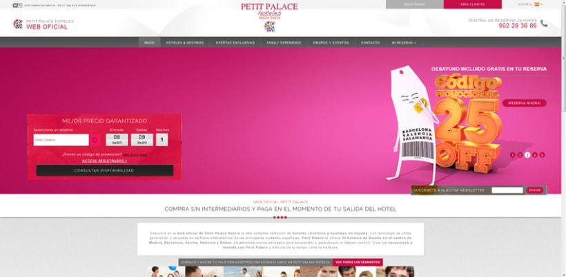 Petit Palace Hoteles - Creatividad Campaña Mailing #3: Segundas Rebajas.  4