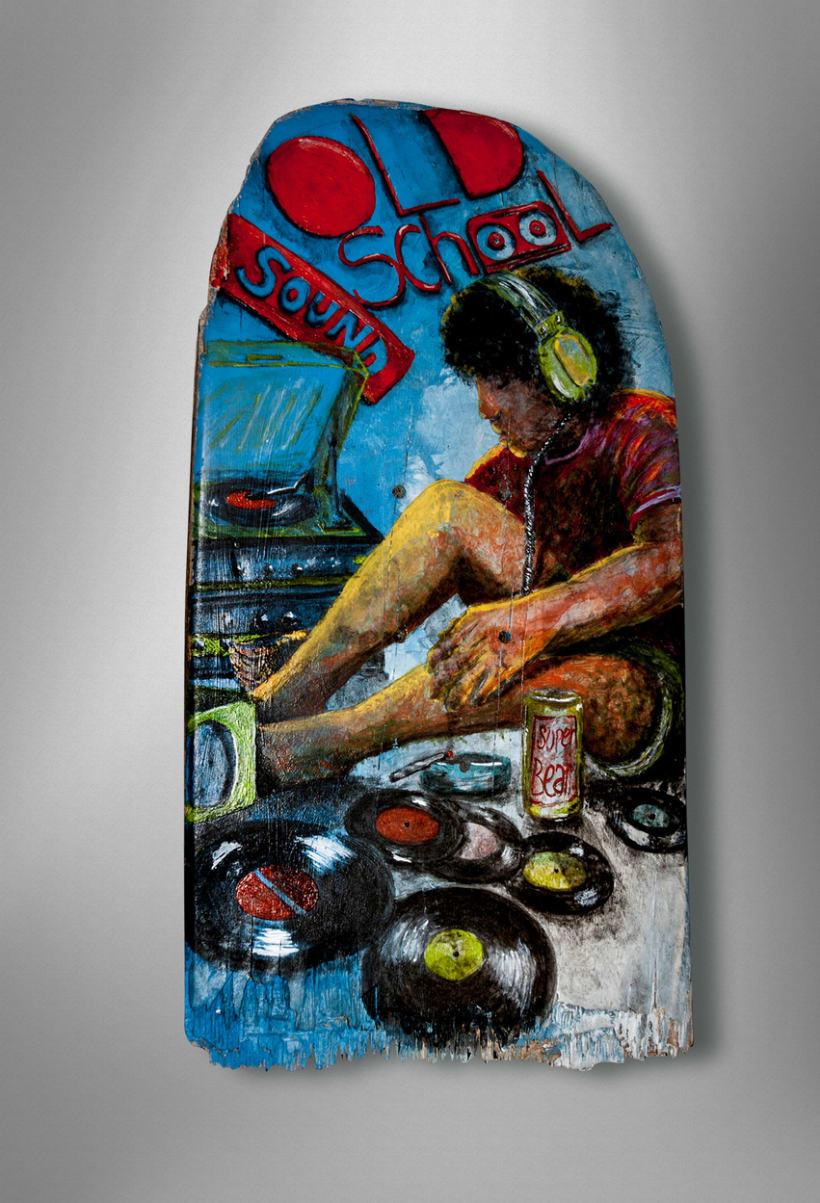 """Crash-Art """"skateboard"""" 7"""