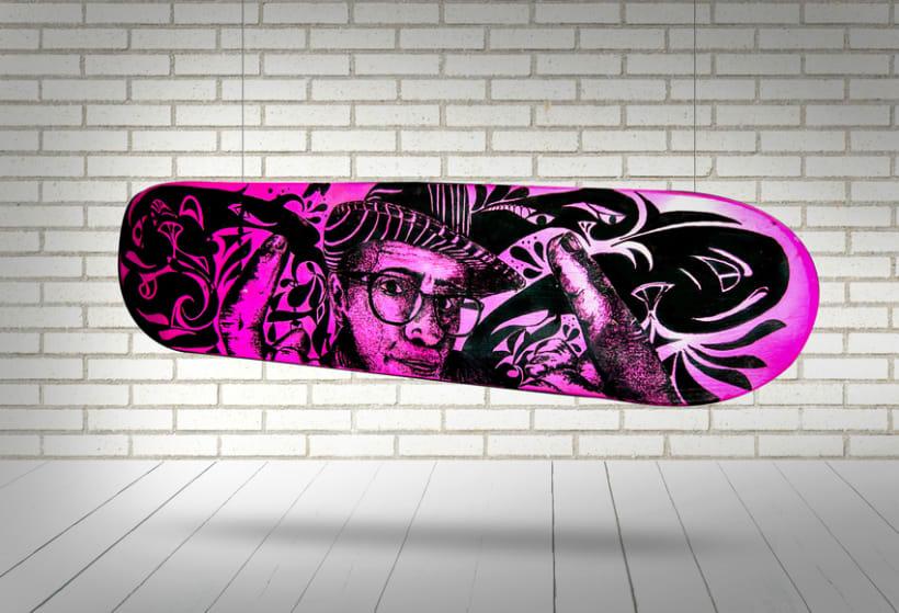 """Crash-Art """"skateboard"""" 10"""