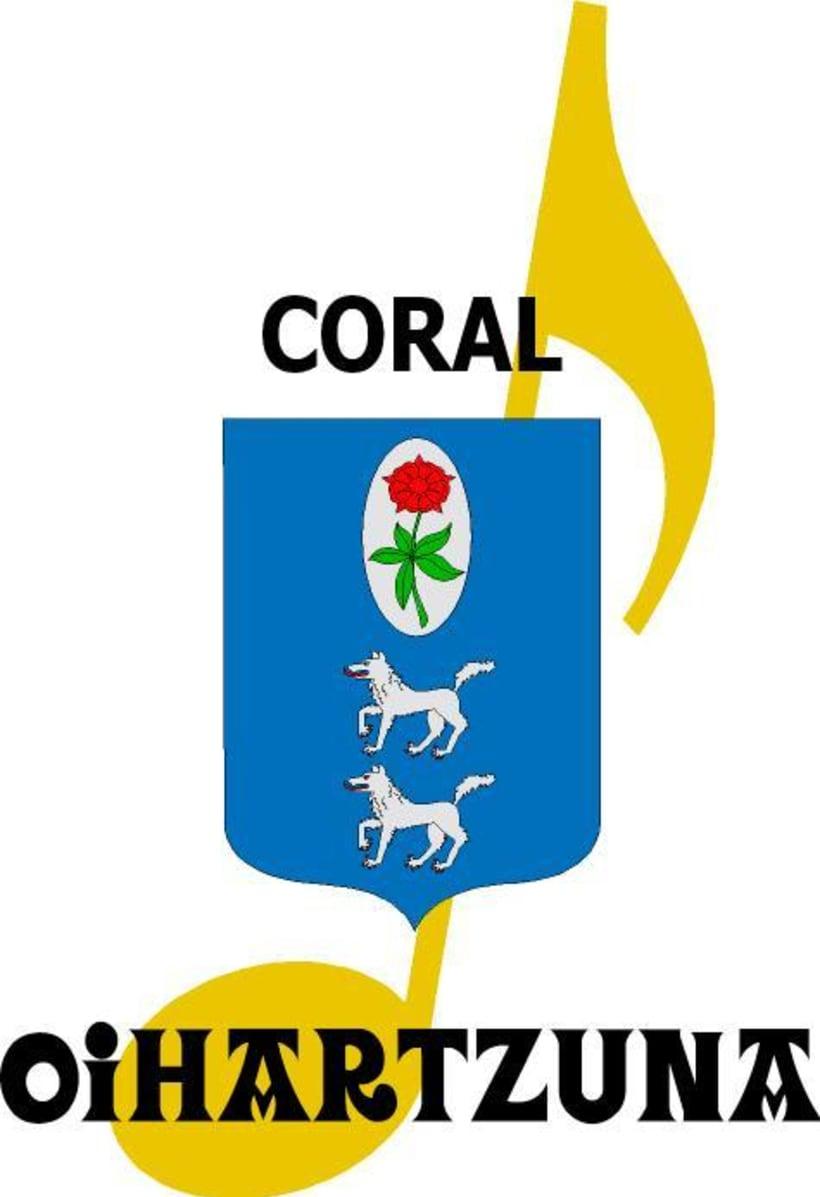 Logotipo Coral Oihartzuna 0