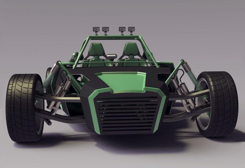 Buggy Monster 3