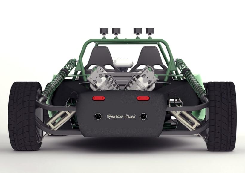 Buggy Monster 6