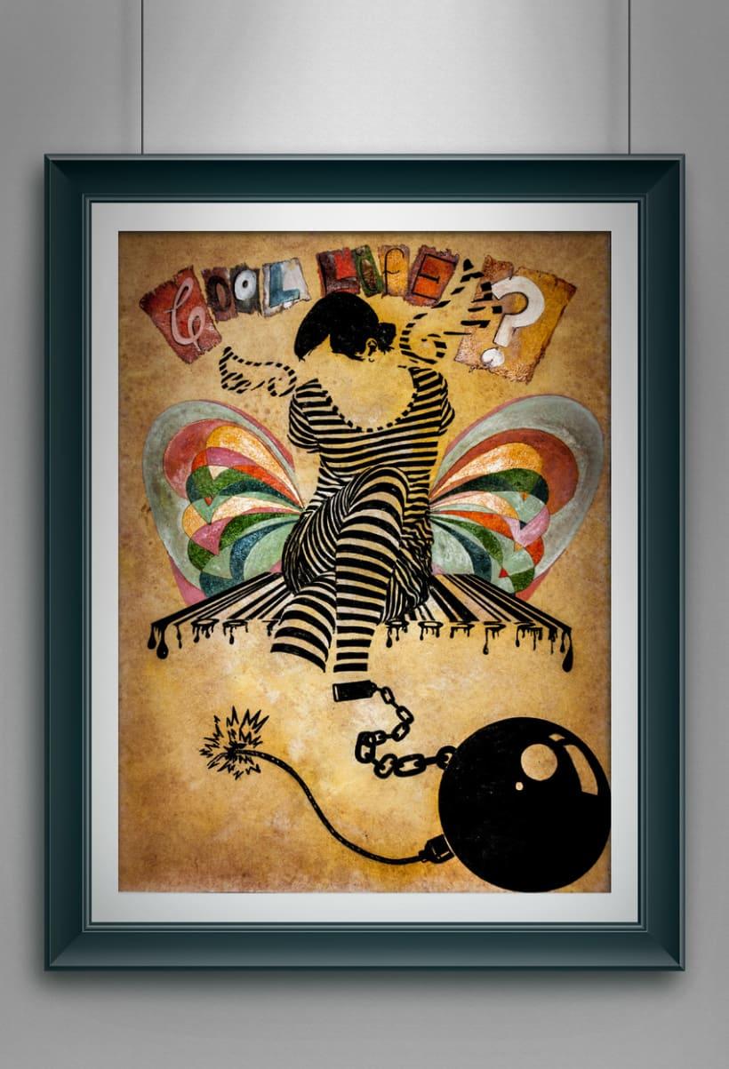 "Ilustraciones 35x50 cm ""tinta china"" 2010-2014 1"