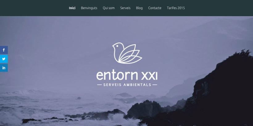 Entorn XXI - Branding 0