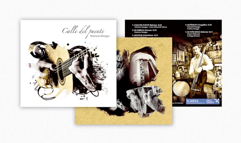 Diseño de CD de música flamenco-fusión 1