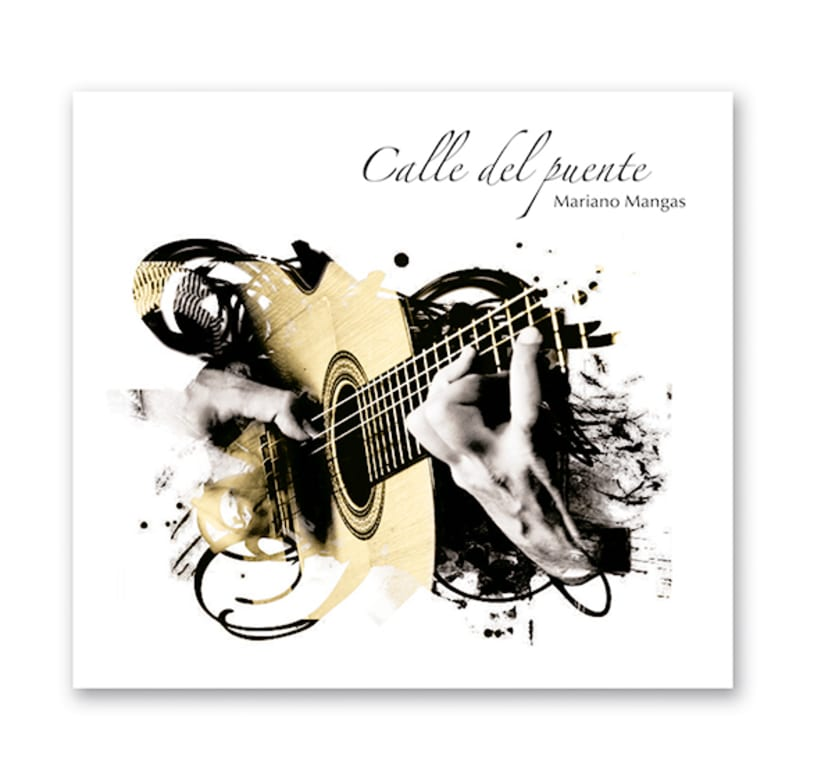 Diseño de CD de música flamenco-fusión 0