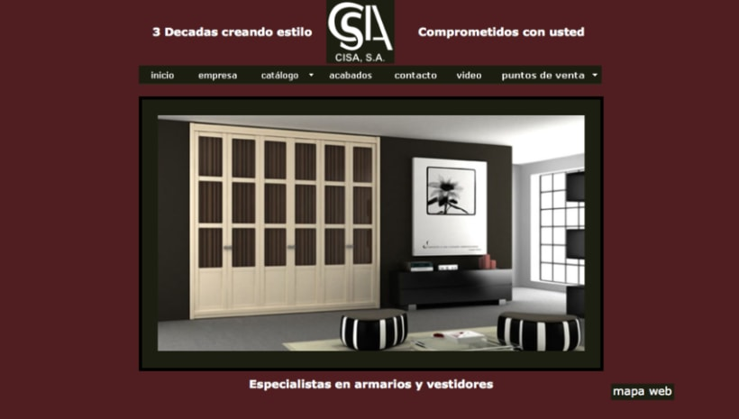 Web Grupo Cisa 2