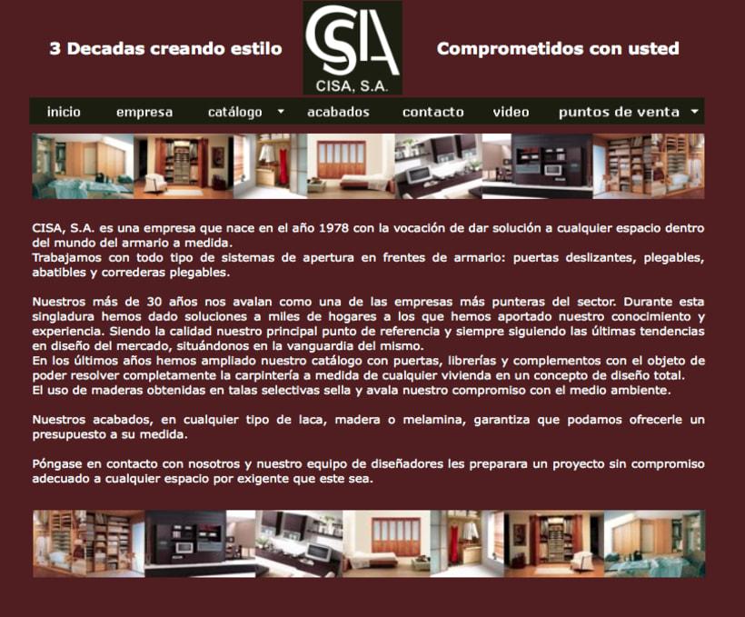 Web Grupo Cisa 3