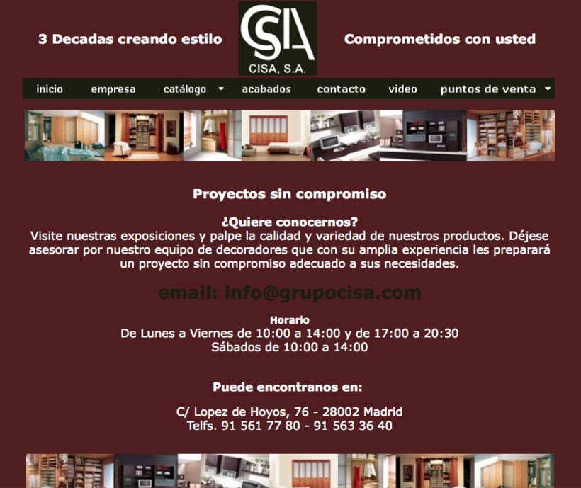 Web Grupo Cisa 5