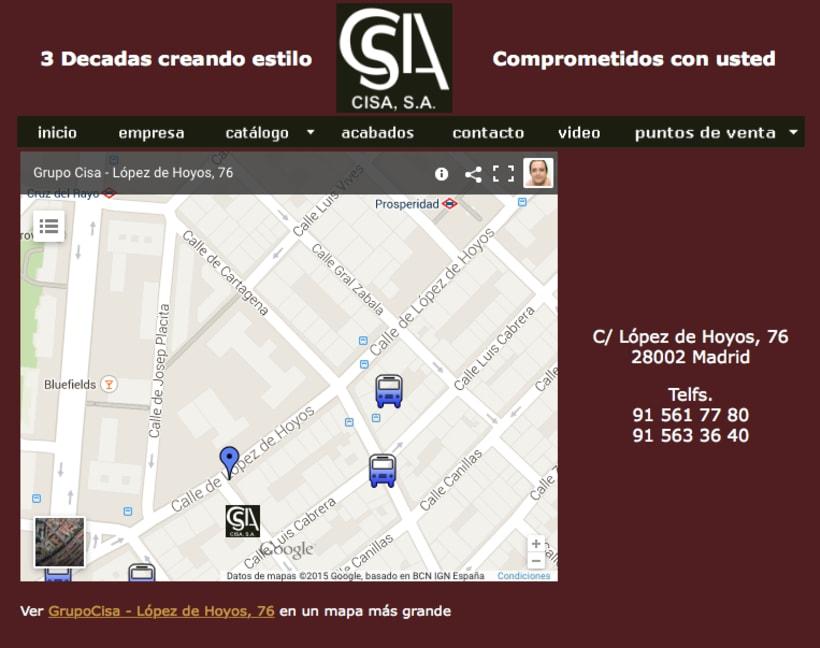 Web Grupo Cisa 6