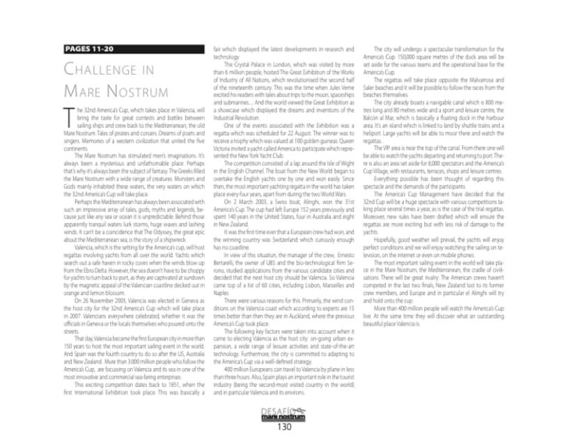 Libro Desafío en el Mare Nostrum 9