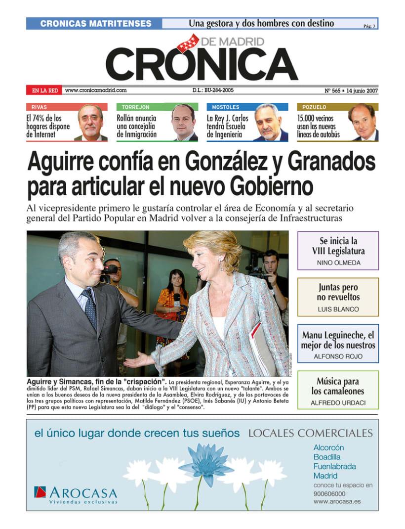 Periódico Crónica de Madrid 1
