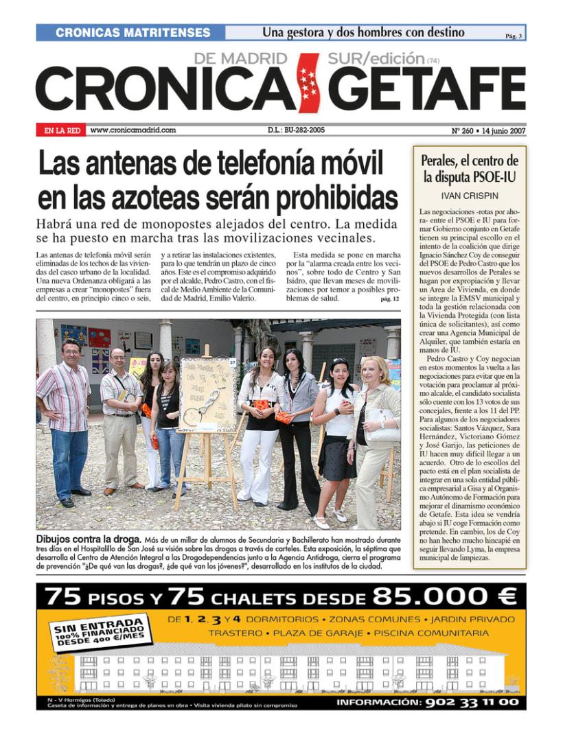 Periódico Crónica de Madrid 2