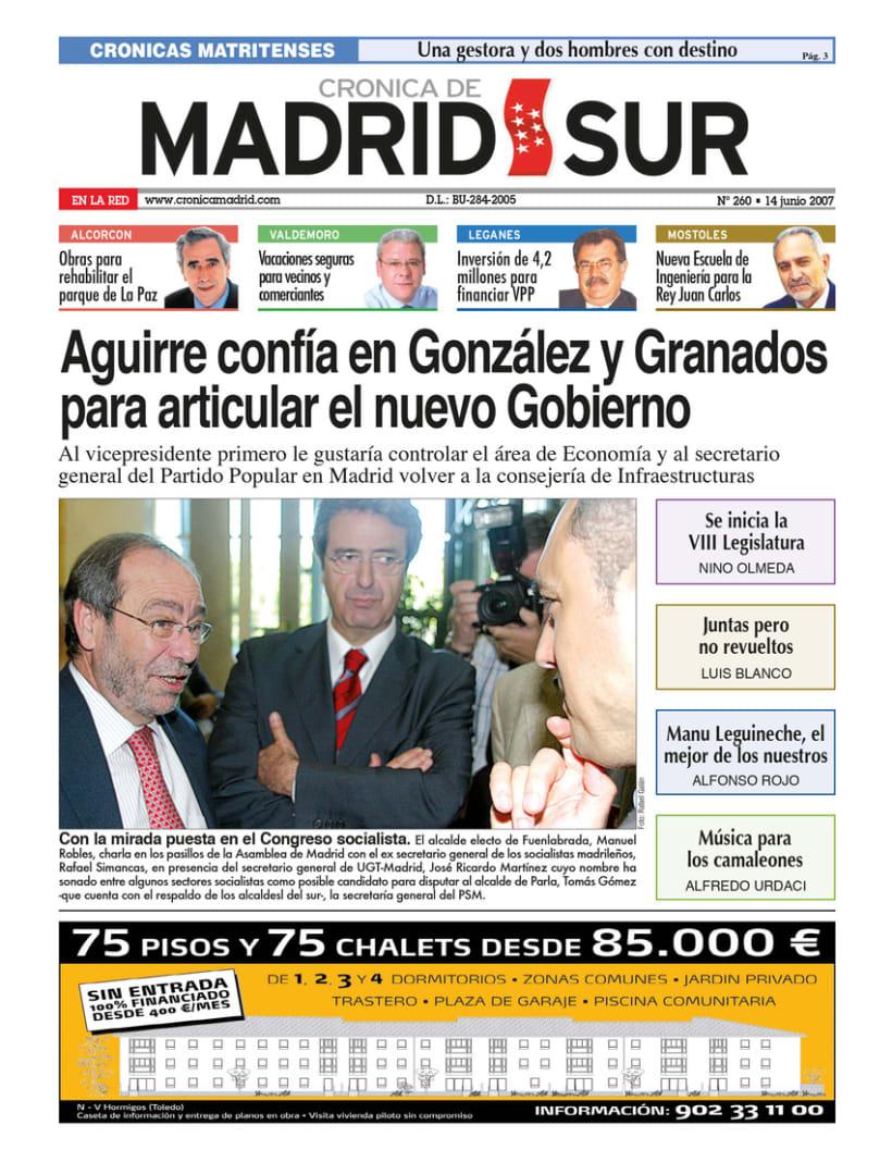 Periódico Crónica de Madrid 3