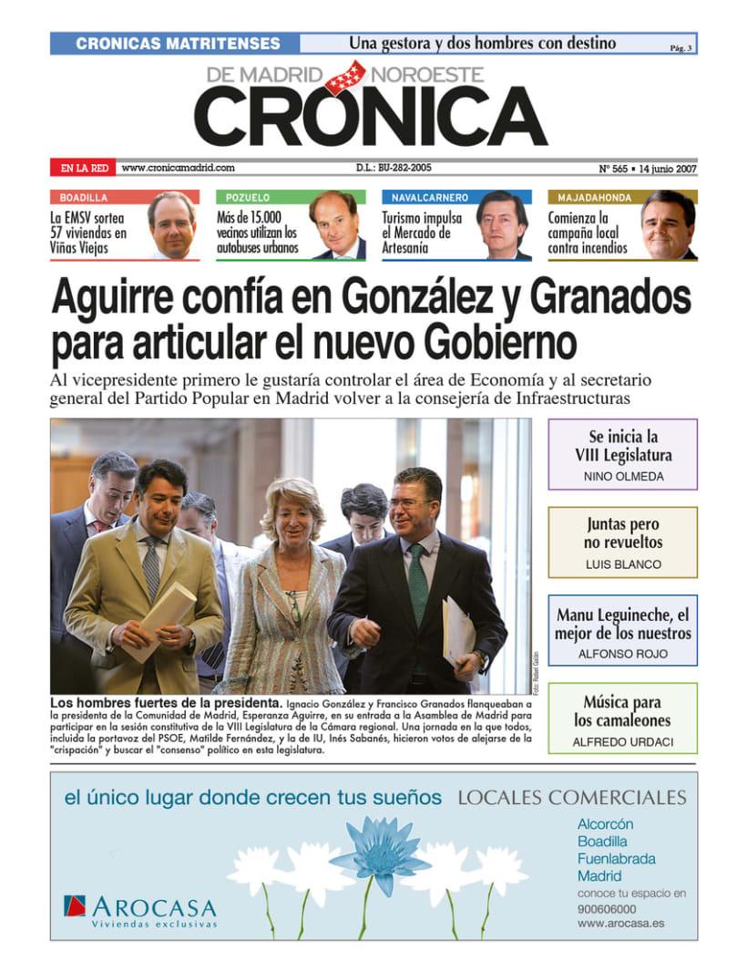 Periódico Crónica de Madrid 4