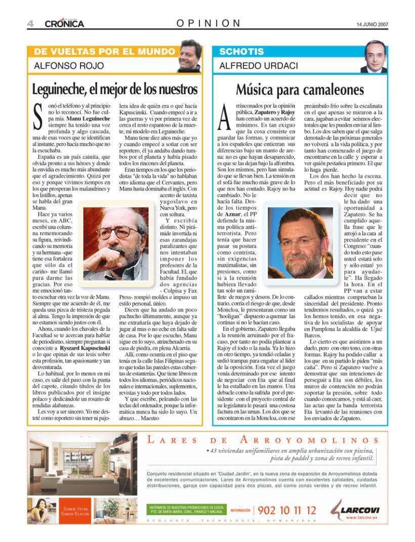 Periódico Crónica de Madrid 5