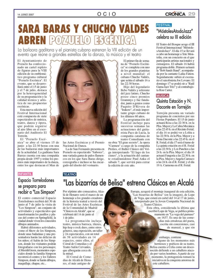 Periódico Crónica de Madrid 6