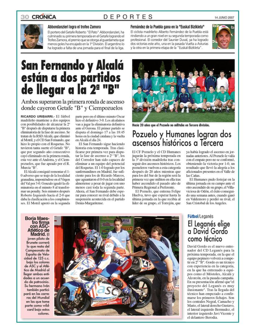 Periódico Crónica de Madrid 7