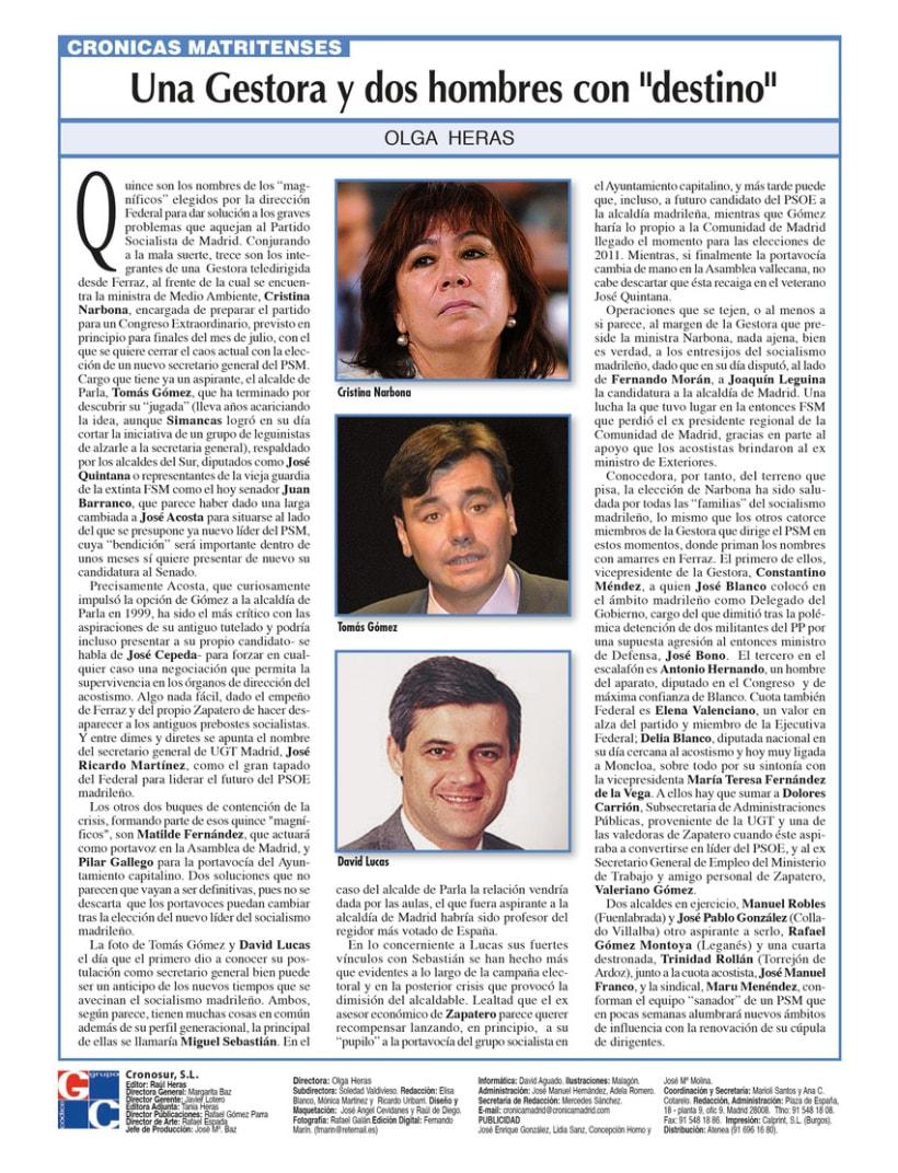 Periódico Crónica de Madrid 8