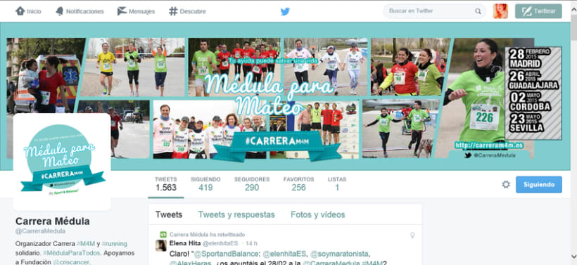 Mi trabajo en Sport And Balance para La Carrera Solidaria Meduala Para Mateo #CarreraM4M -1