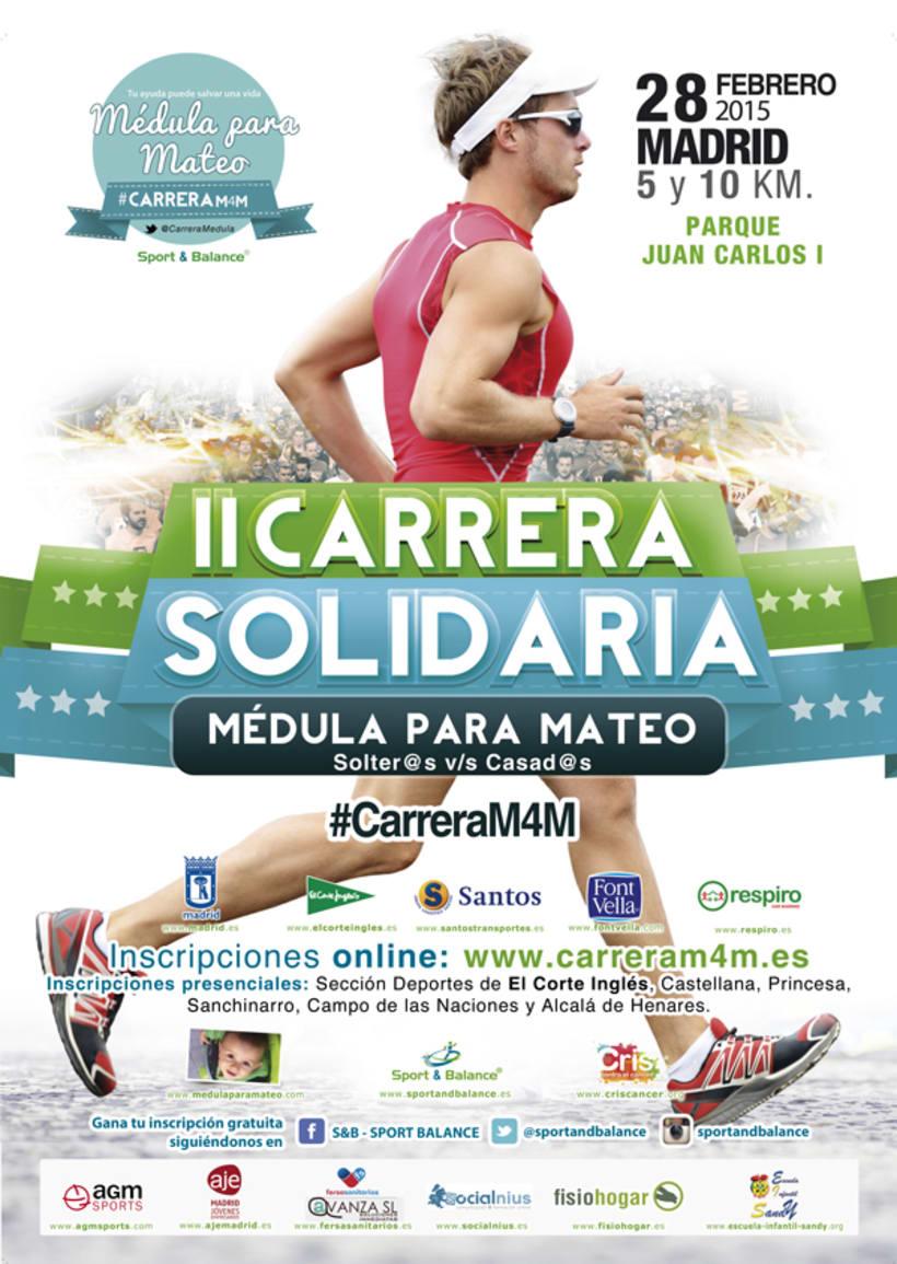 Mi trabajo en Sport And Balance para La Carrera Solidaria Meduala Para Mateo #CarreraM4M 1