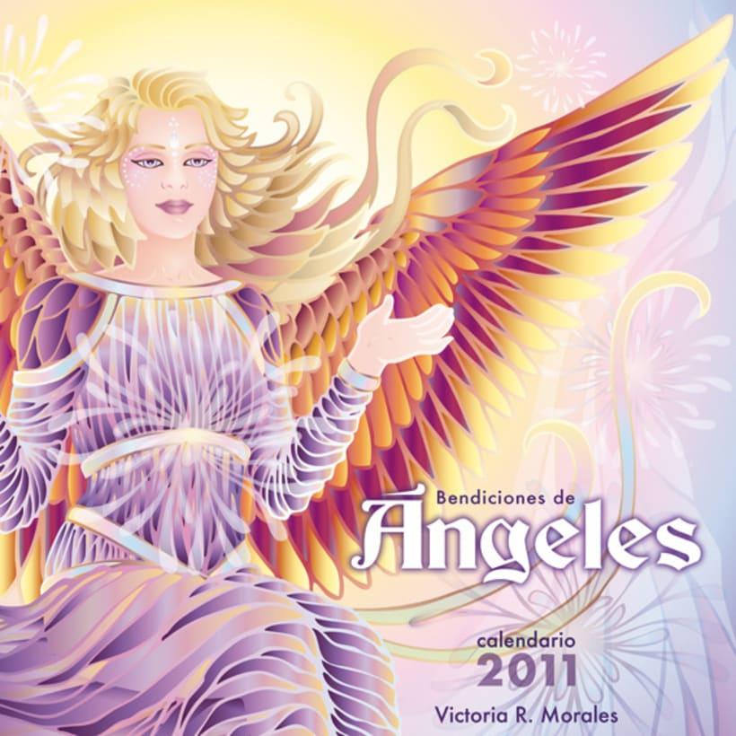 Calendario Bendiciones de Angeles 12
