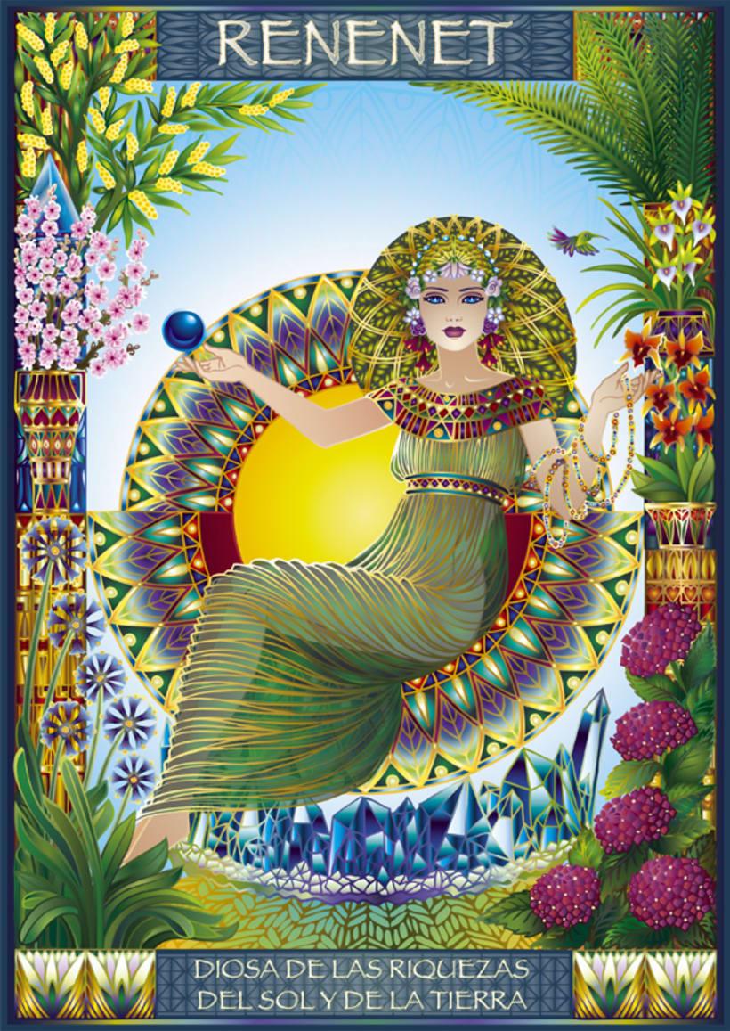 Calendario Diosas de Egipto 0