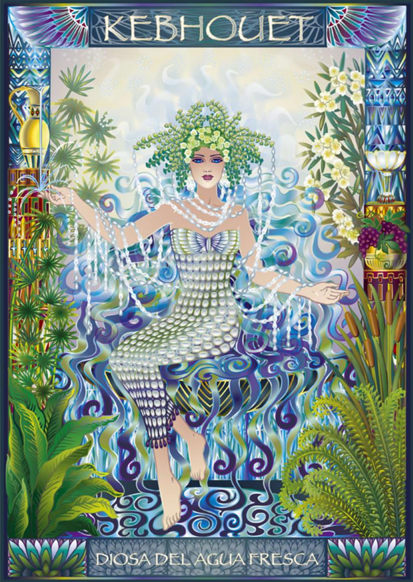 Calendario Diosas de Egipto 1